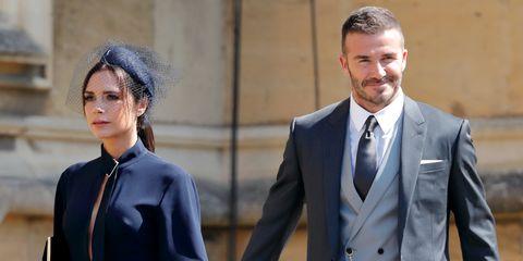 Victoria en David Beckham