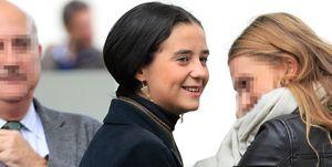 Victoria Federica en las carreras de caballos de Madrid