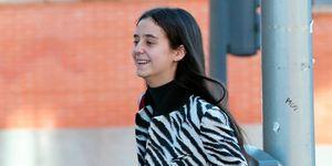 Victoria Federica estrena el abrigo de Mango que se compró en las rebajas.