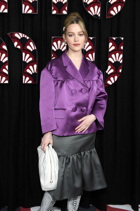 Victoria Pedretti, Paris Fashion Week