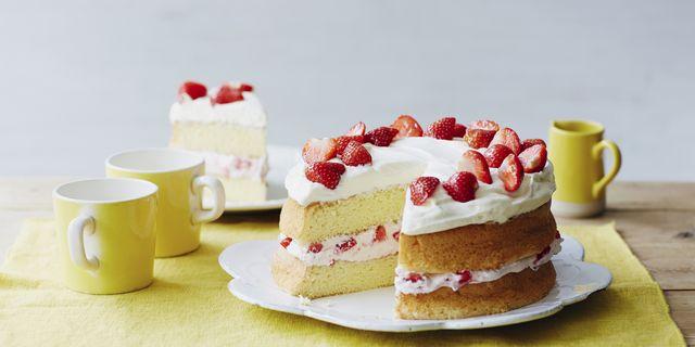 Mary Berry S Victoria Sandwich Cake Mary Berry Recipes Sponge Cake Recipes