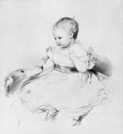 victoria the eldest child of queen victoria sketched by her news photo