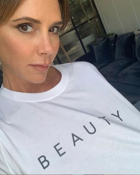 victoria beckham,morning routine