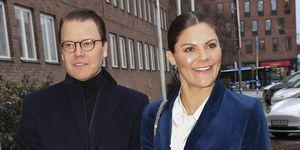 Victoria de Suecia y su marido, Daniel, se mimetizan