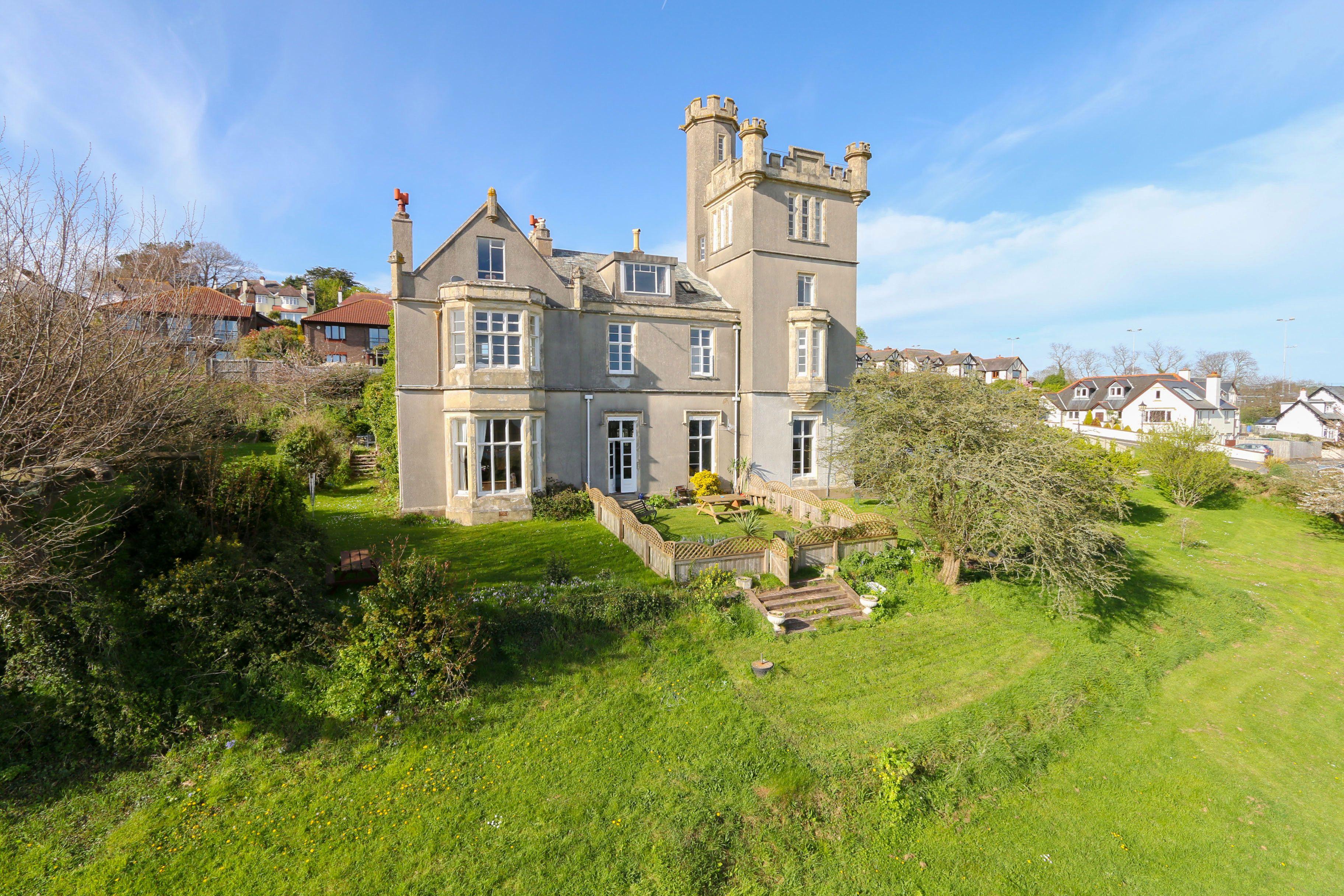 Victorian Gothic 'Fairytale' Castle/ Folly in Devon, England