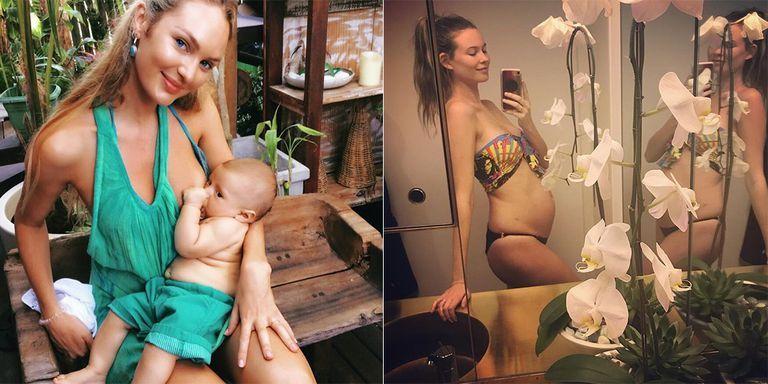 Behati Prinsloo y Candice Swanepoel hablan de cómo fue su recuperación tras el parto