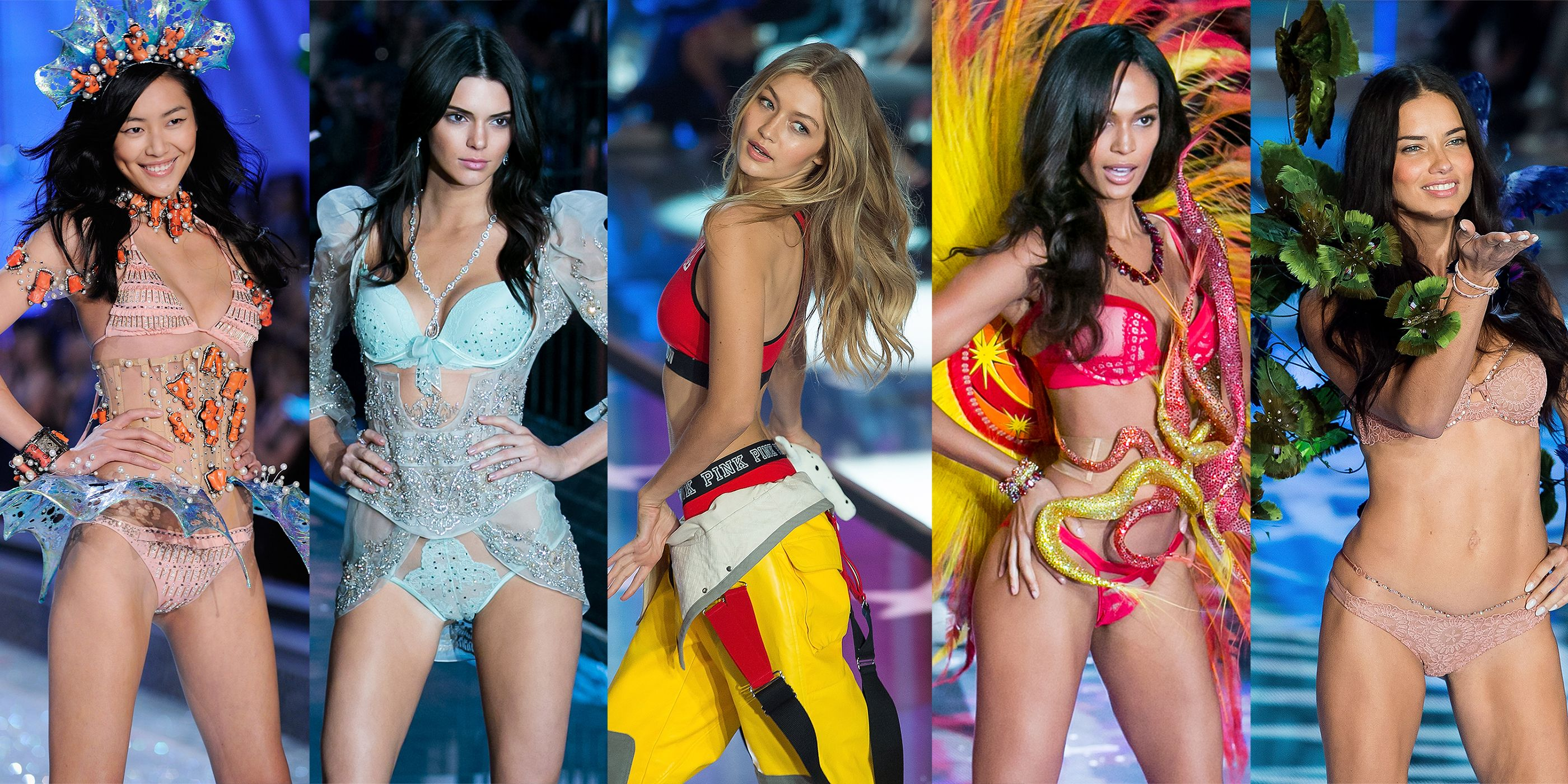All the Models Walking in the 2016 Victoria's Secret Fashion Show