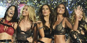 victorias secret open letter models