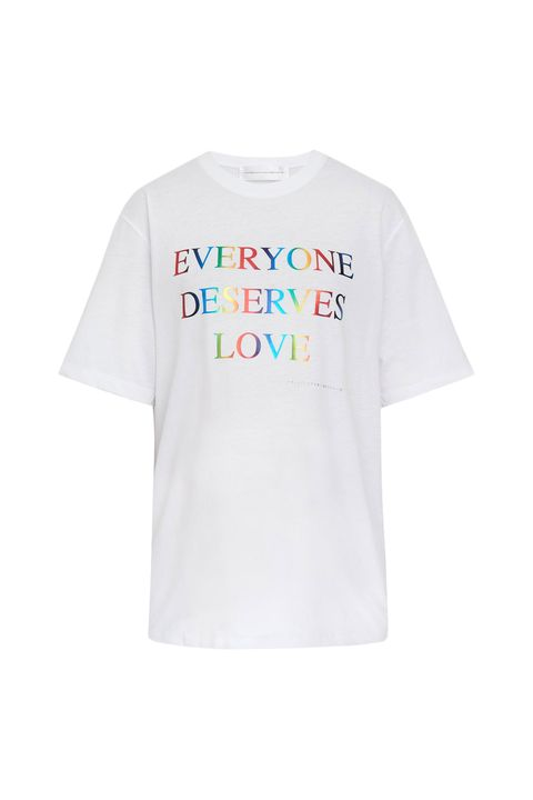 pride fashion - victoria victoria beckham limited edition pride t shirt