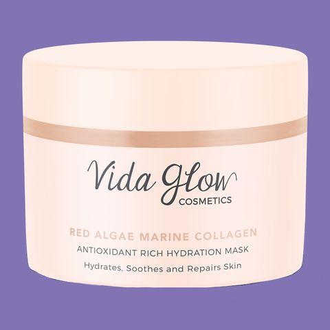 Vida Glow Cosmetics Red Algae Marine Collagen Antioxidant Rich Hydration Mask