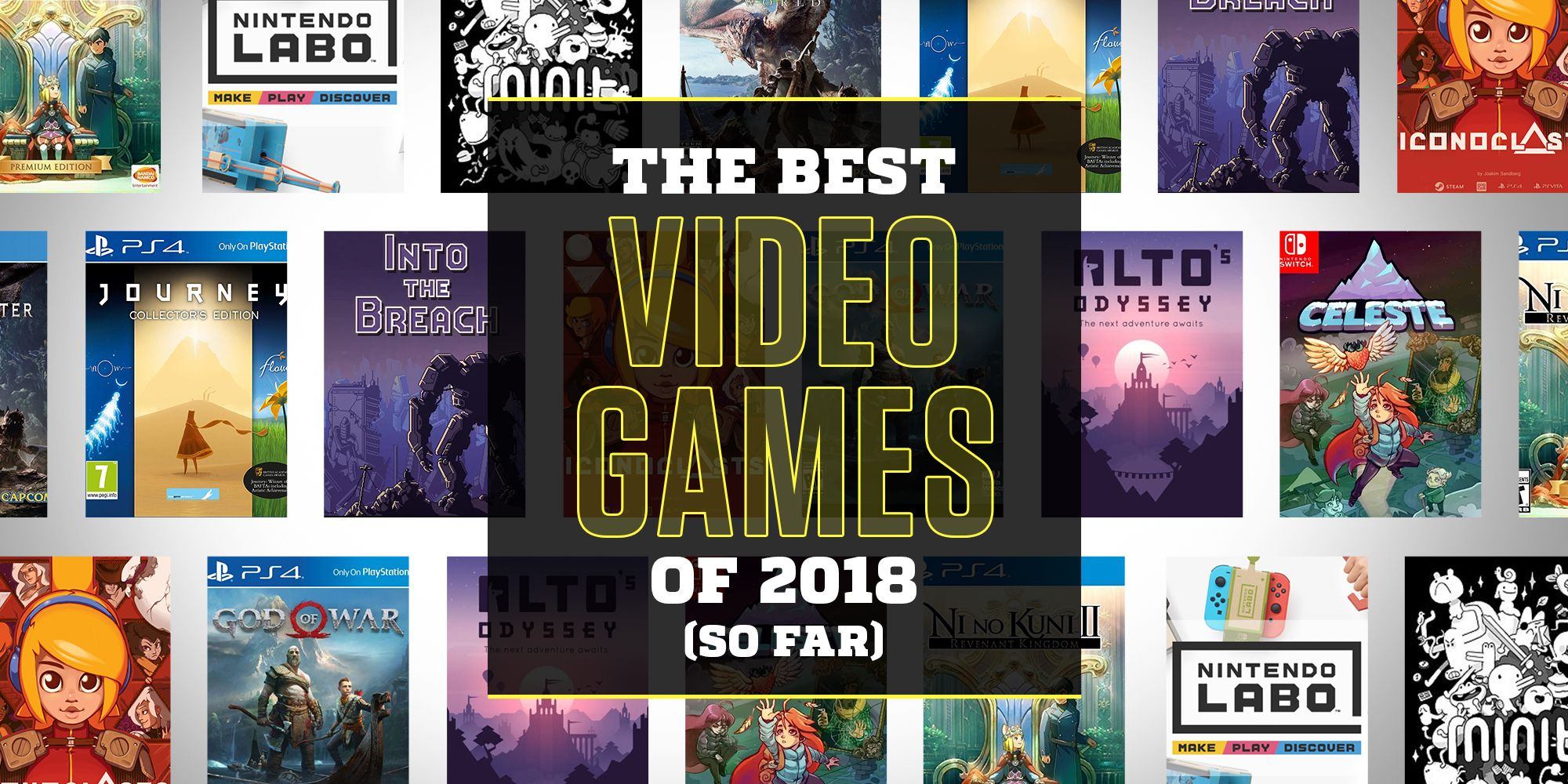 The Best Video Games of 2018 (So Far)