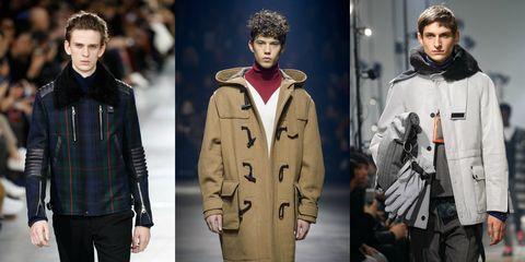 Clothing, Fashion, Outerwear, Jacket, Coat, Fur, Overcoat, Human, Parka, Fashion model,