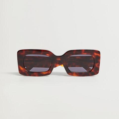 vierkanten zonnebril van mango
