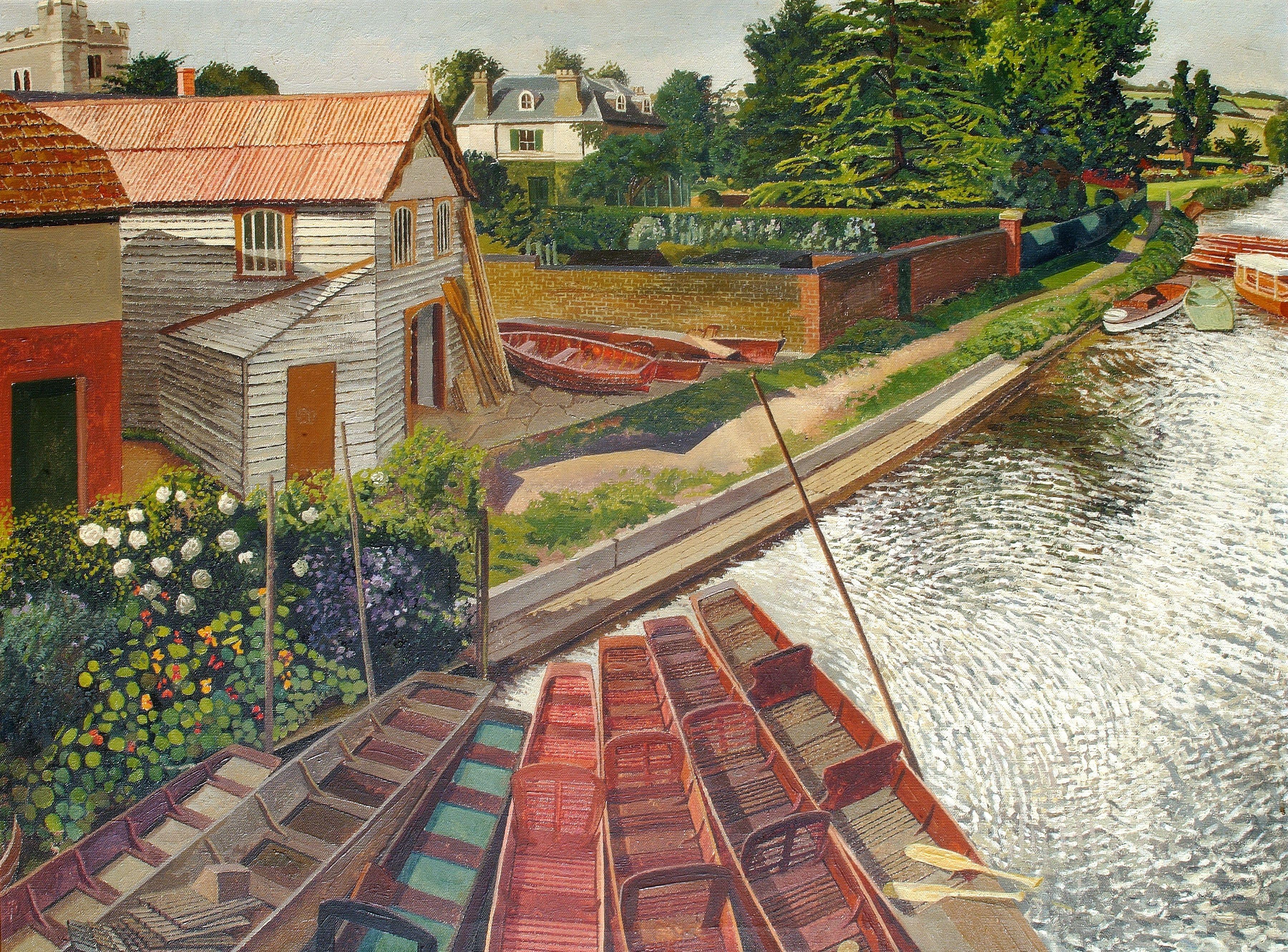See Stanley Spencer's spectacular artworks in his beloved Berkshire village