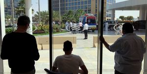 UAE Tour coronavirus quarantine continues for pro cycling teams