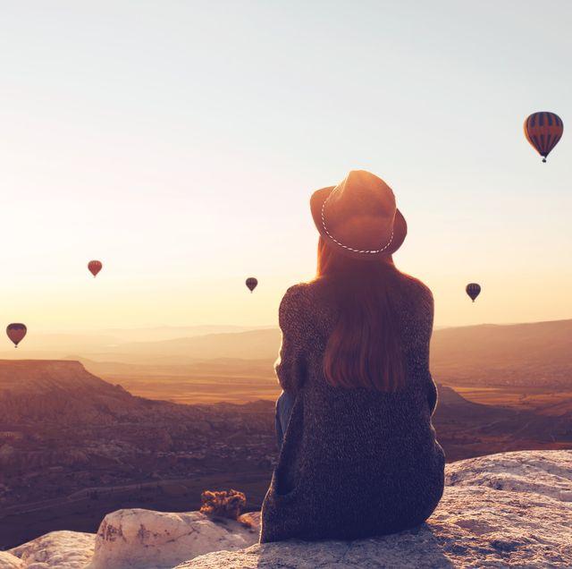 女生一個人旅遊土耳其卡帕多奇亞