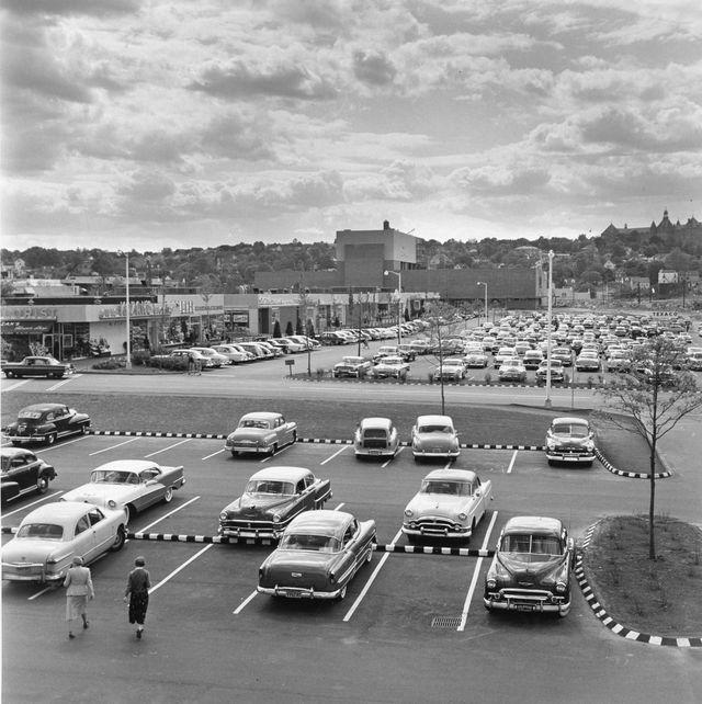 Vintage Photos of Malls