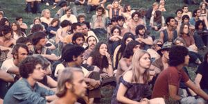 Audience At Woodstock