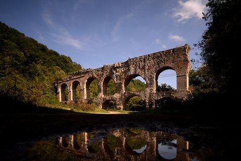 roman anio vetus aqueduct