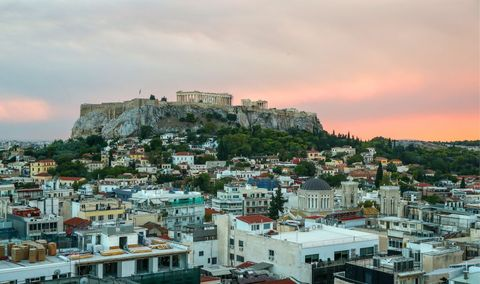 Athens, capital of Greece, in pictures