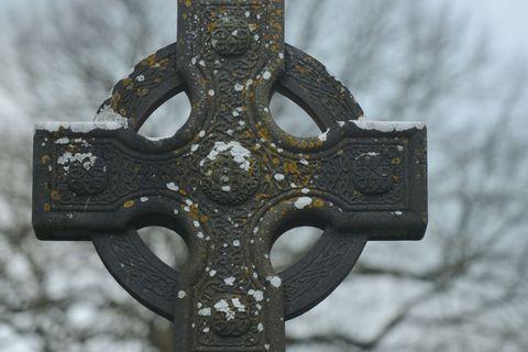 Monasterboice Irish Crosses