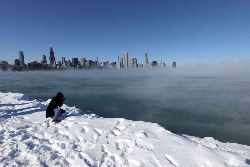 Extreme Cold Temperatures In Chicago