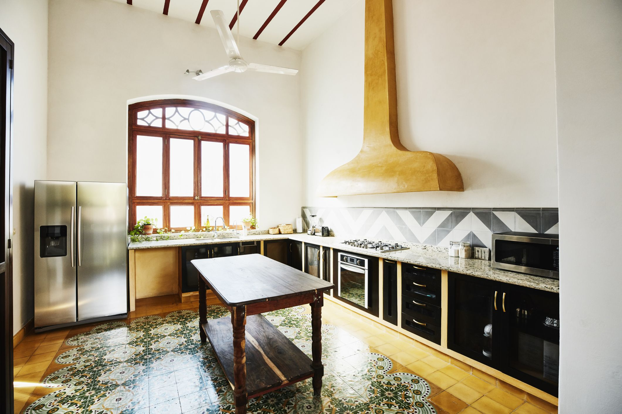 Here Are 10 Kitchen Flooring Ideas - Types of Kitchen Floors