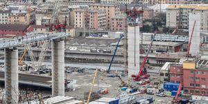 ITALY-ARCHITECTURE-TRANSPORT-BRIDGE-CONSTRUCTION