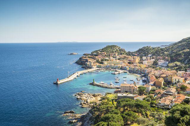 view of giglio porto
