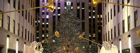 Christmas Preparations In New York