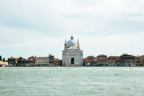 View of Le Zitelle church on Giudecca island in Venice, Italy.