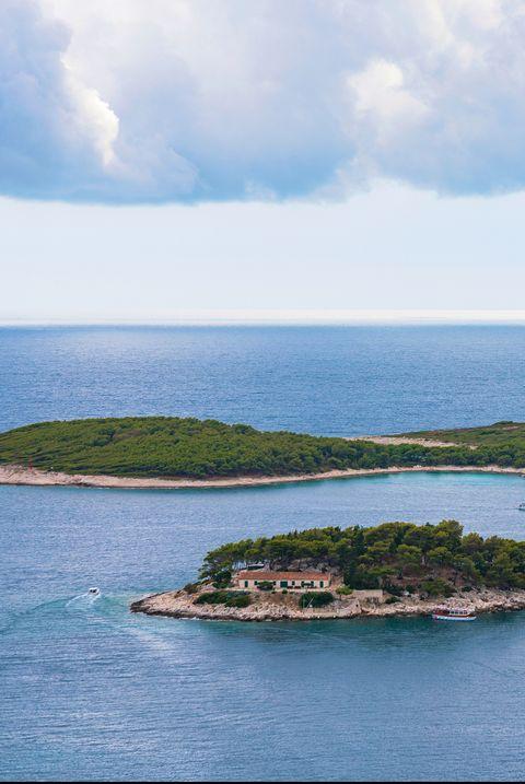 view of pakleni islands