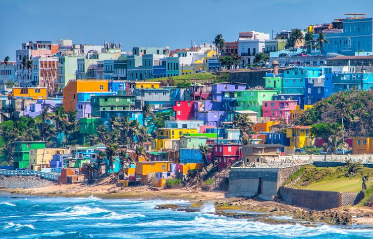 View Of Sea Against Buildings In City