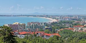cheap beach holidays in Europe 2019 - Sunny Beach, Bulgaria of Sunny beach -  resort on the Black Sea coast of Bulgaria.