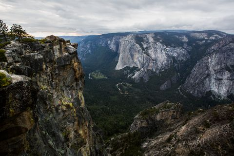 Memorial For Dean Potter And Graham Hunt At Taft Point
