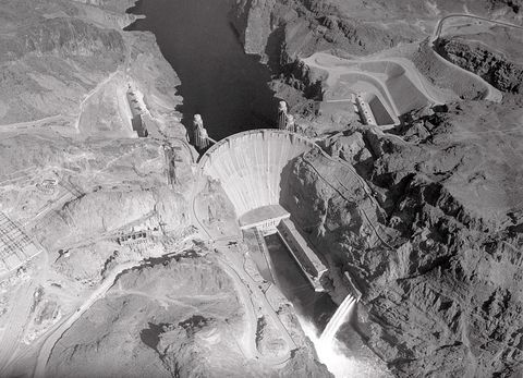 overview of boulder dam