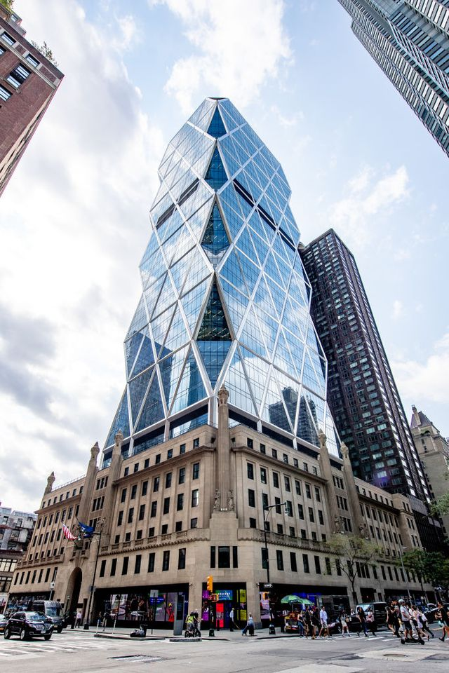 hearst building norman foster 300 west 57