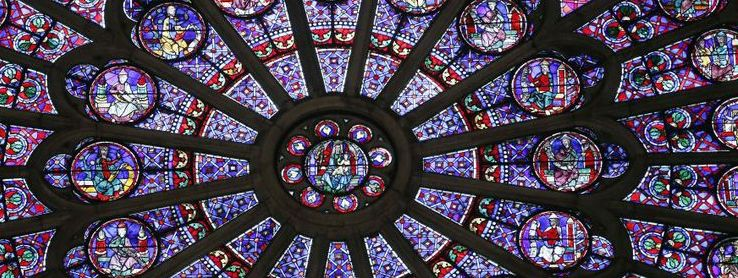 Notre Dame rose windows