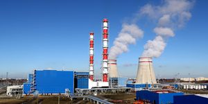 Pregolskaya thermal power plant opens in Kaliningrad Region, Russia