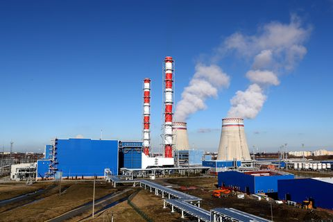 Pregolskaya thermal power plant opens in Kaliningrad Region, Russia