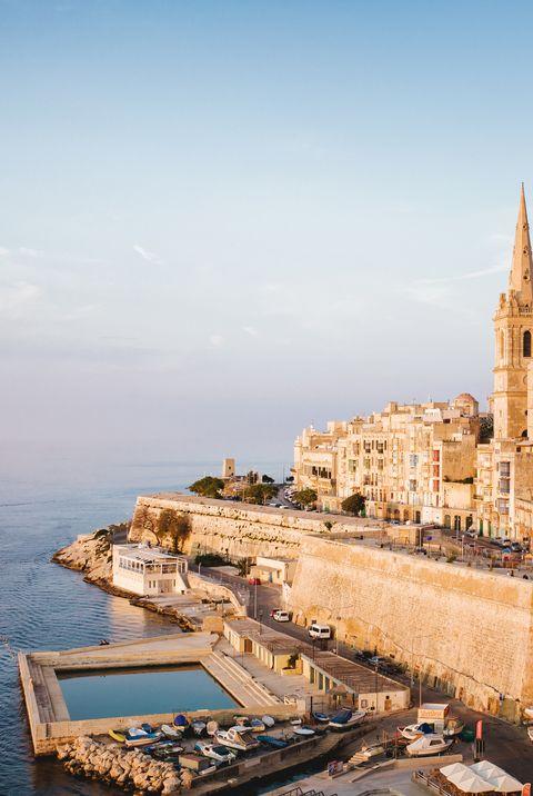 Мальта красивая