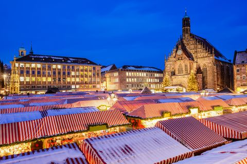 Nuremberg Christmas Market.The Best Christmas Markets In Germany Top Festive Breaks 2019