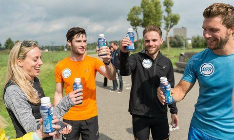 voorbereiding new york City marathon, Vifit Sport team