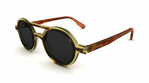 Viktor & Rolf zonnebril rond model