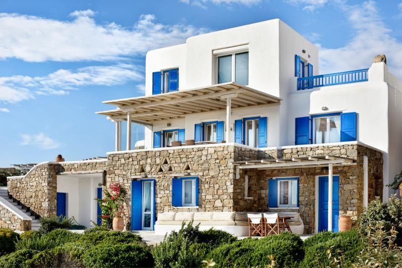 Group villas Mykonos Greece