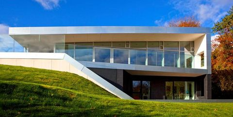 Property, Architecture, Facade, Real estate, Lawn, Commercial building, Headquarters, Campus, Yard,