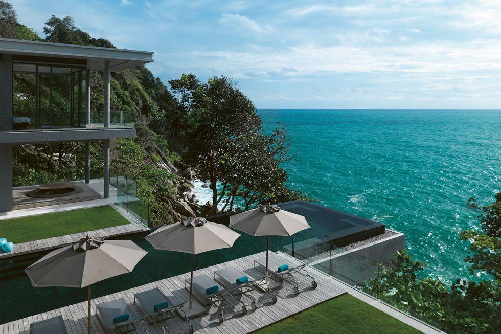 ocean view villa thailand