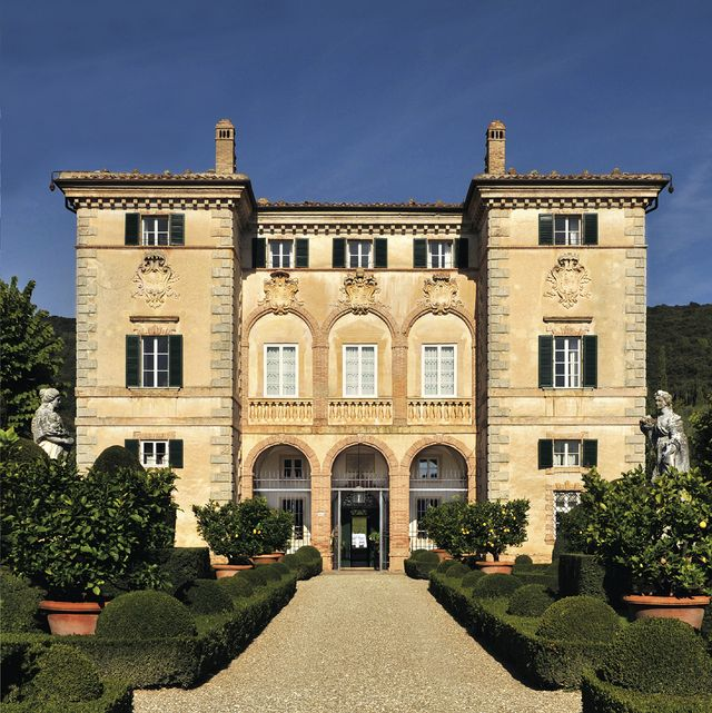casas, villas y palacios para estancias exclusivas palacio en toscana