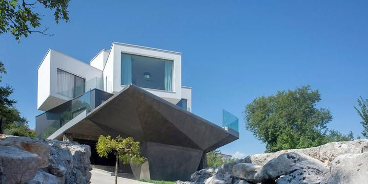 Villa con piscina | Terrazza a sbalzo | In Croazia
