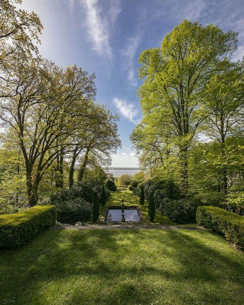 Nature, Tree, Green, Sky, Natural landscape, Daytime, Grass, Property, Garden, Botany,